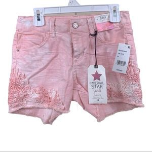 New Imperial Star Girls Shorts size 12 NWT